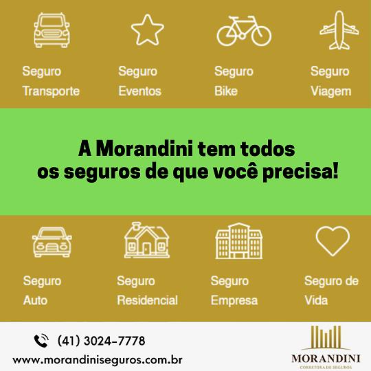 Faça seu seguro com a Morandini hoje ainda!