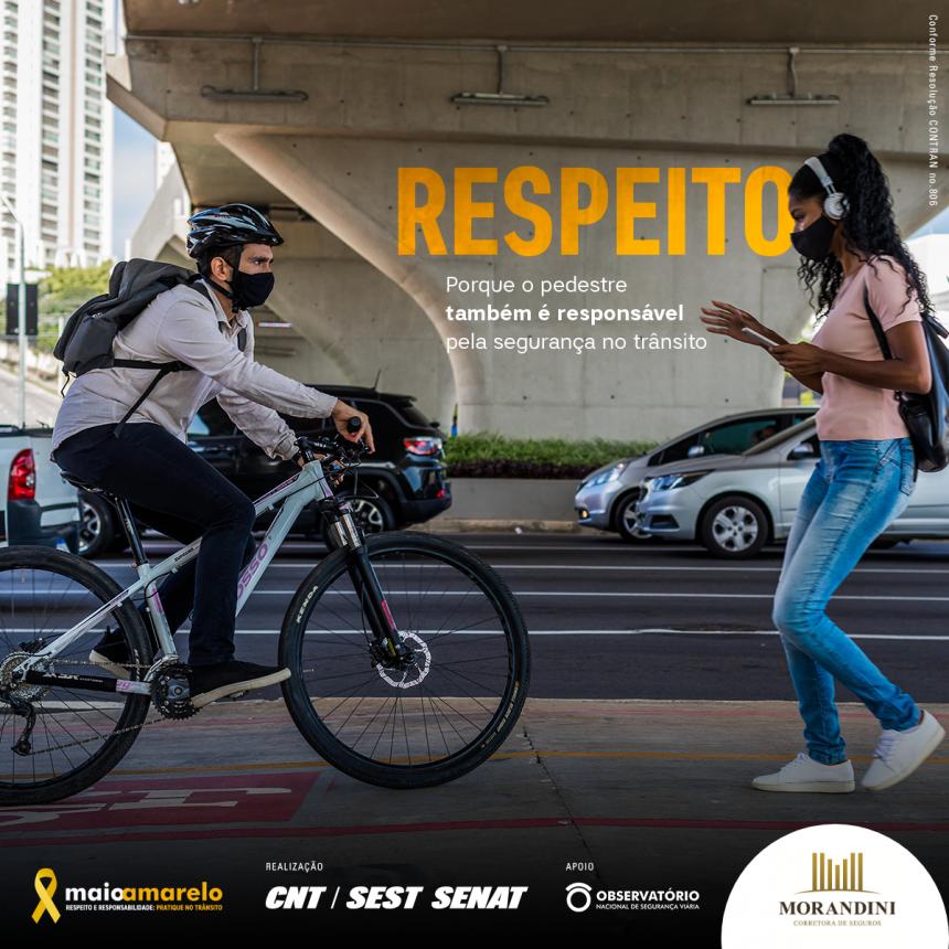 No trânsito, todos somos responsáveis.