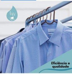 A lavanderia fica no bairro Água Verde, em Curitiba.