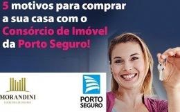Adquira seu imóvel por meio do Consórcio Porto Seguro.