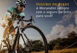 Peça uma cotação para o seguro da sua bike na Morandini.