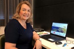 Sirlei Morandini apresenta o site da corretora para você!