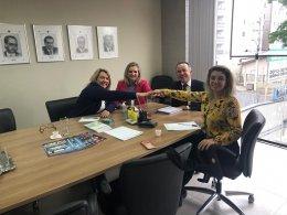 Sirlei Morandini convidou corretoras para reunião no Sincor-PR.