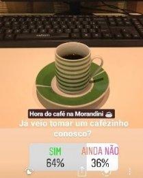 Venha tomar um cafezinho com a gente!